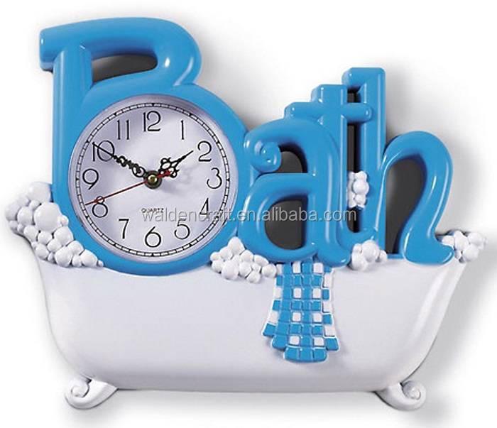 Horloge De Salle De Bain Horloge Rgle De Salle De Bains