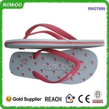 Beach Custom Made rubber wholesale flip-flops