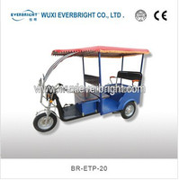 2015 China advanced three wheel passenger electric tricycle