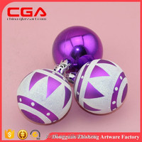 Platic christmas ball,round ornaments for christmas decorations wholesale