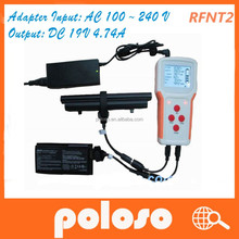 Universal laptop battery tester RFNT2 with charge/test/online functions/Monitoring/control/parameters function for laptop .