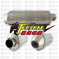 Hot sale stainless steel muffler for motorcycle