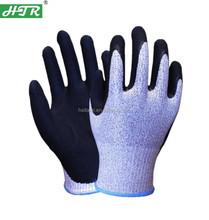 HTR nitrile coated cut resistant work gloves Anti-Cut Nitrile Gloves