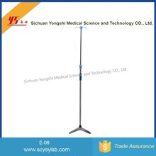 Movable Steel Hospital Medical Infusion Drip Pole Stand for Hospital/Clinic