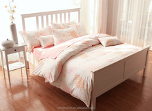 2015 china supplier Brand new 100% polyester dyed fabric for wedding bed linen/bed sheet set wholesale
