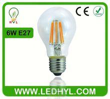 led cog cob filament shape bulb light lamp e27 a60 6w 36v led bulb
