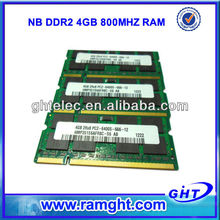 Best price for the combination of notebook ddr2 sodimm 4g ram memory