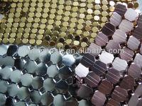 Metallic cloth/Sequin cloth/Metal mesh fabric