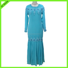 Dubai abaya wholesale islamic long dress modern kaftan jubah