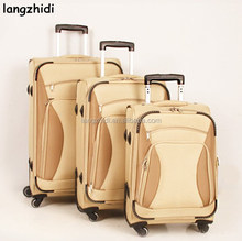 new style honey moon trolley luggage air travel suitcase 20'' 24'' 28'' one set
