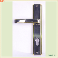 Zinc exterior door handle for egypt of 650g weight