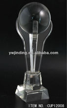 new fashion products on the market optical crystal trophies for basketball
