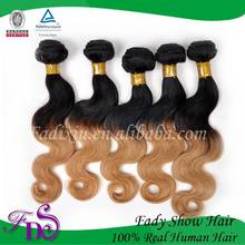 New arrival virgin brazilian ombre hair weaves