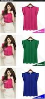 Женские блузки и Рубашки Ruffles ol s m l XL B005