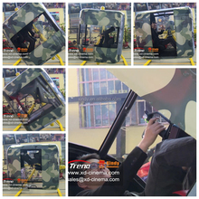 attractive airplane entertainment park facility with 3D realistic helicopter game flight simulator 2015