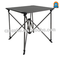 CB-AT009 New Design Outdoor Lightweight Aluminum Folding Table with storage bag