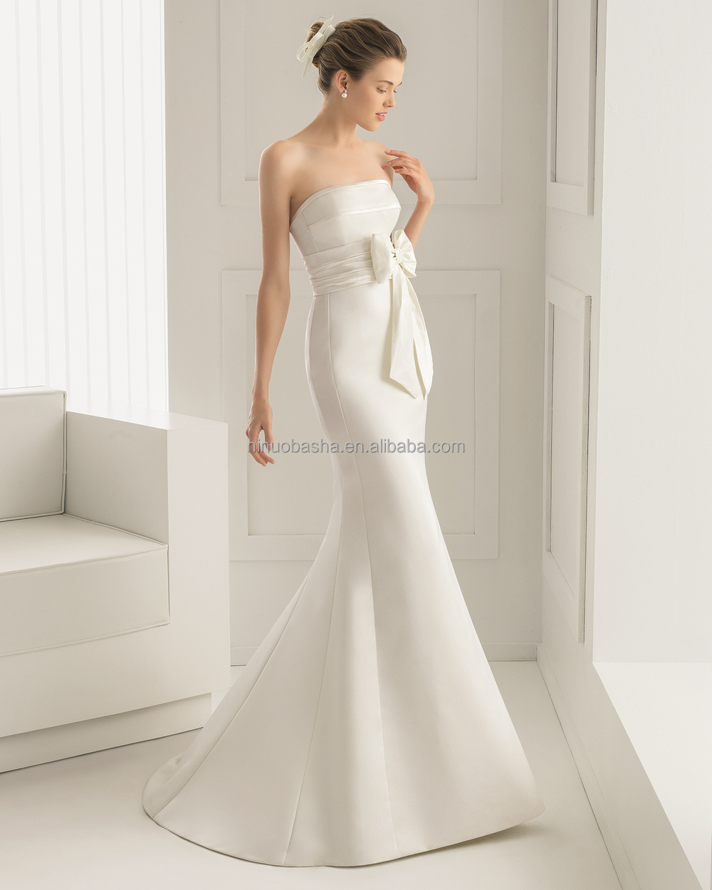 Wholesale 2015 unique silk satin wedding dress and for Satin silk wedding dresses