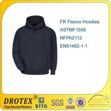 HRC2 100% COTTON Hooded Fireproof Sweatshirt / Heavyweight FR Sweatshirt