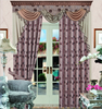 Countryside polyester window curtains,fancy window curtain,polyester sheer curtain