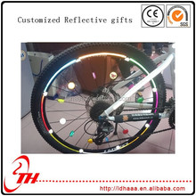 customized bike tire bicycle wheel spoke reflectors button manufacturer