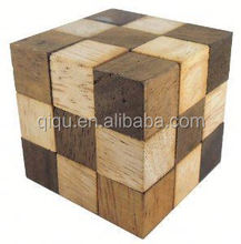 2015 new 3d puzzle wooden toy customized