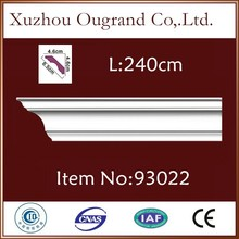 lightweight pu mould for types of ceiling board finishes decoration