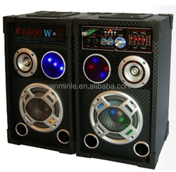 "portable stage 5"" subwoofer speaker active speaker built in amplifier good sound quality 2.0 multimedia speaker"