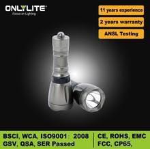 novelty aluminum powerful led diving flashlight