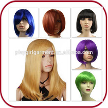 De moda multi- corlor de halloween peluca pelucas sintéticas pgw-1873