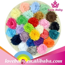 Yiwu factory supply beautiful hair clip cloth fabric hair accessories for girls LBHL15082208