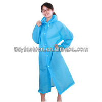 Waterproof Durable Fashion Blue Walmart Raincoats