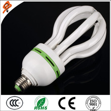 high lumen 45w 65w 85w cfl lamp 4u tube lotus energy saving lamp