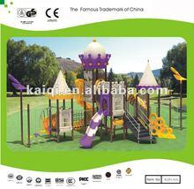 KAIQI outdoor children toys/community playground/park plastic slide