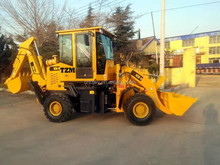 Hot sale tractor with front end loader and backhoe