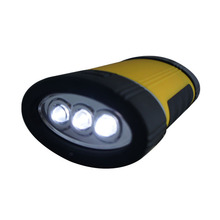 Oval 19 LED with Hook and Magnet Telescopic Rubber Plastic Work Lamp