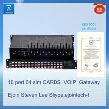 Ejoin 16 port GSM gateway VOS VPS cdma mobile gateway