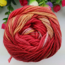 wool and bamboo fiber hand kintting thread
