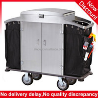 Guangzhou supplies Multi-purpose Hotel housekeeping trolley, housekeeping cart