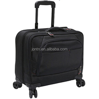 travel portable computer case with wheeled