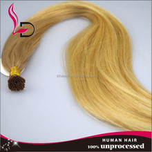 wholesale alibaba Reliable quality indian remy i tip hair extension,I tip shape pre bond 100% virgin indian remy hair extension