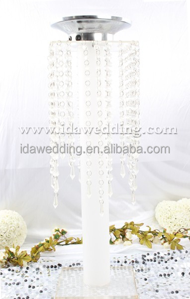 White Plastic Wedding Pillars Columns For Sale Cheap