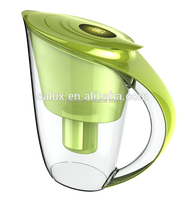 New design low negative ORP portable alkaline water filter pitcher water jug
