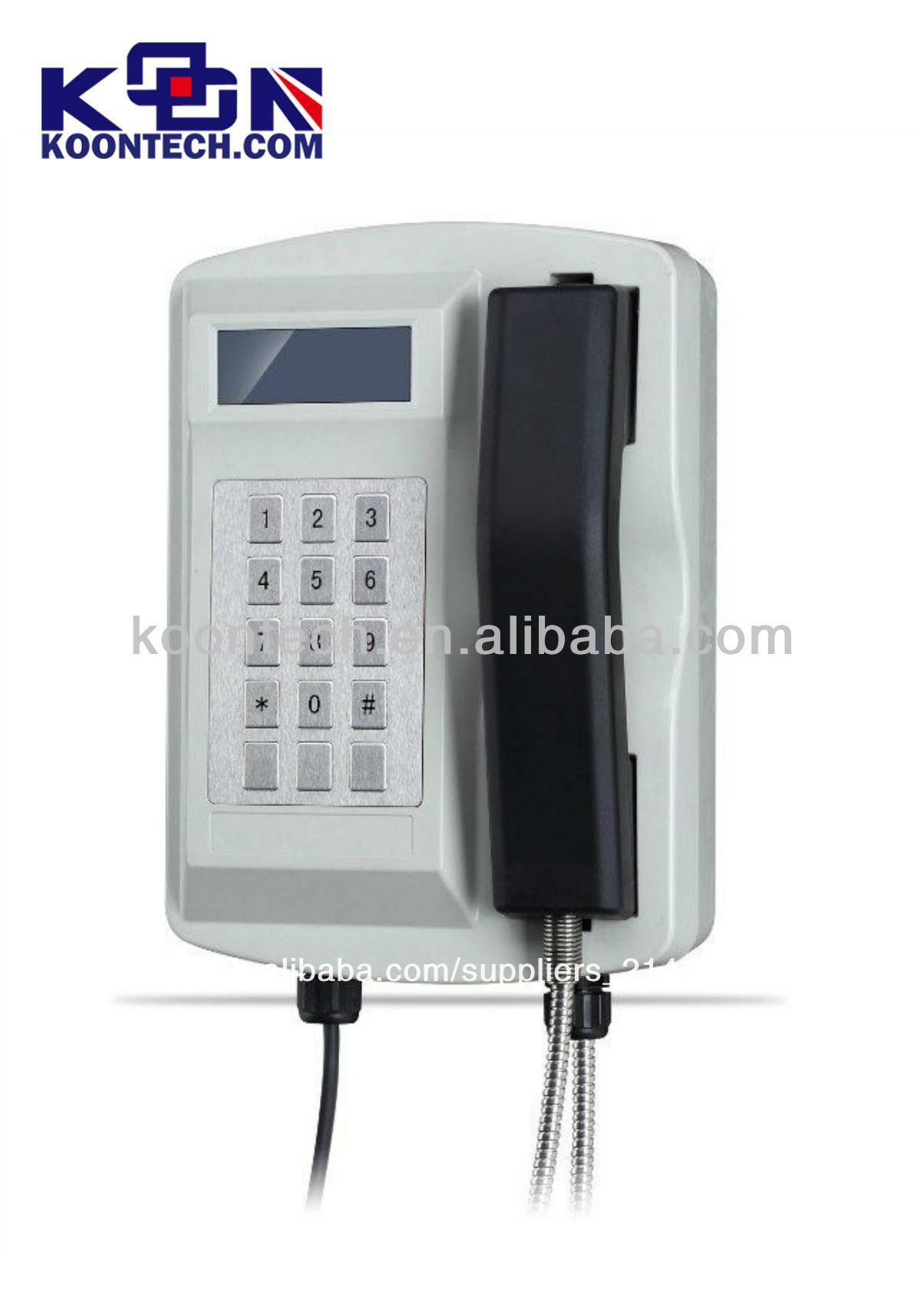 a prueba de agua más caliente de teléfono de voip de teléfono de seguridad del servicio telefónico