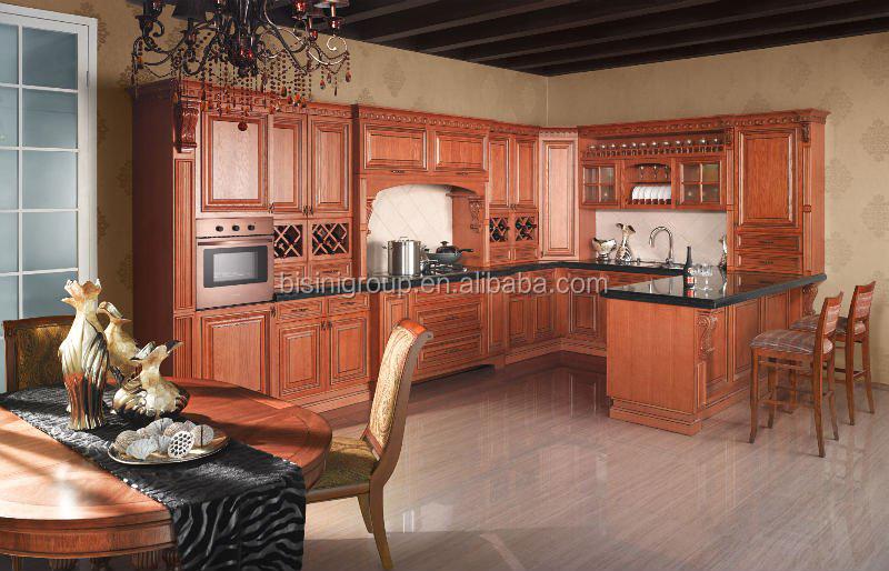 tradizionale armadio da cucina controsoffitto, cucina di design di ... - Cucina Di Design Armadio Di Lusso