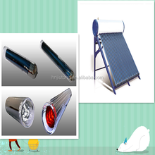 High pressure solar water heater with 10 years warrantee