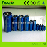 Hot Sale EDLC 2.7V 60F,80F,etc. Supercapacitor/Farad Capacitor