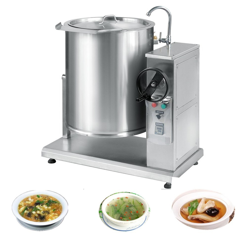 Cooking Equipment : Xydg-h100 Industrial Kitchen Equipment Soup Cooking Boiling Pot/kettle ...