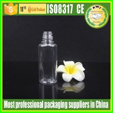 Factory price Hot sale 10ml 15ml 30ml smoke black pet plastic dropper bottles with CT cap