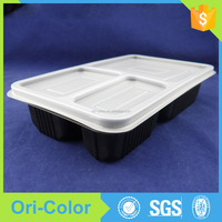 OEM accepted Disposable plastic oven safe food container with lid