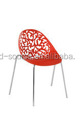 plastic red leisure sex chair home furniture